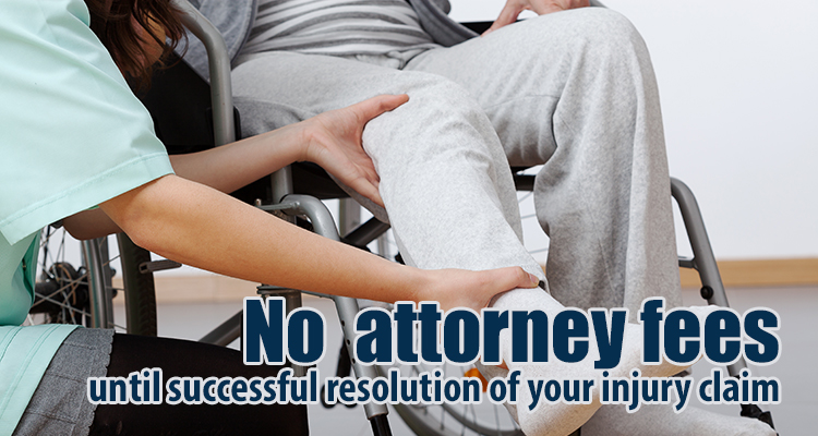 Patient getting help from a Rancho Cucamonga, CA, personal injury attorney